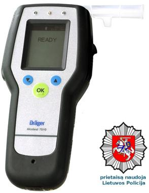 alkotesteris drager alcotest 7510